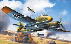 Blohm und Voss P.194, German WW II Fighter-Bomber Project, by Egbert Friedl