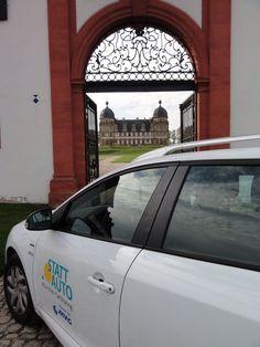 Vielen Dank für das tolle Foto vom Schloss Seehof bei Bamberg! #Stattauto #München #CarSharing #Urlaub