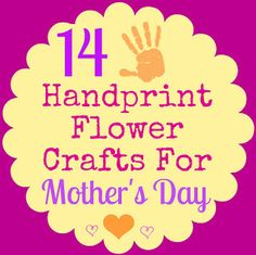 handprint flower craft world s best certificate printables printables 2150