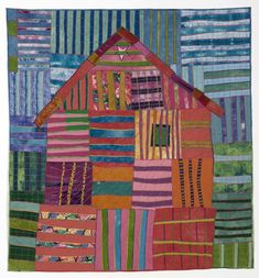 Big Pink House by Sally Sellers (Vancouver, Washington)
