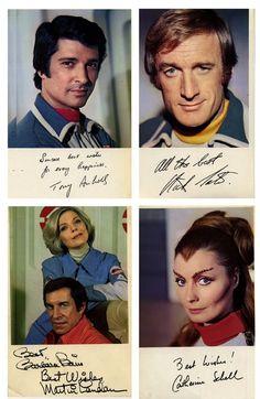 space:1999 cast photos and autographs - Space 1999 Eagle Transporter Forum