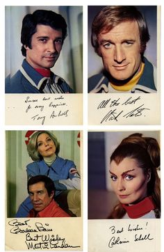 space:1999 cast photos and autographs - Space 1999 Eagle Transporter Forum