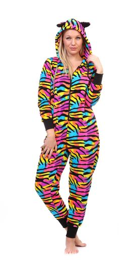 4a5abeee2c Amazon.com  Totally Pink Women s Warm and Cozy Plush Onesie Pajama (Medium