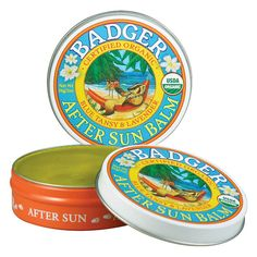 Sun, wind, salt, and sand all take a toll on skin. Badger's all-natural products help to restore skin's balance and moisture!