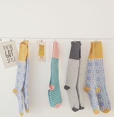 one sheepish girl--love these socks. THE COLORS ARE PERFECT!!