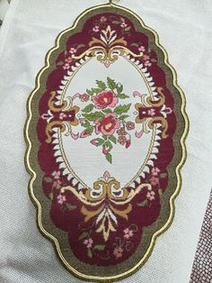 Table Toppers, Elsa, Decorative Plates, Embroidery, Home Decor, Needlepoint, Decoration Home, Room Decor, Table Covers