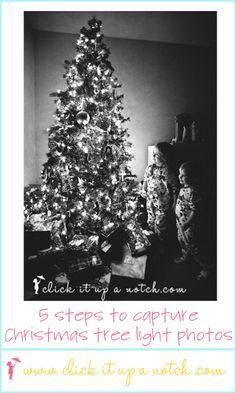 Christmas Tree Lights Photos: 5 Easy Steps