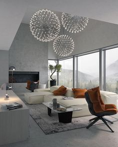 chic black and white living room interior, modern living room decor, apartment d. chic black and white living room interior, modern living room decor, apartment d – Home Design, Home Interior Design, Design Ideas, Modern Design, Design Styles, Interior Lighting Design, Design Trends, Design Design, Design Projects
