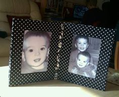 twin fabric covered frame