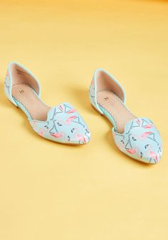 753db12e2a7 Well-Stepped d Orsay Flat in Flamingos