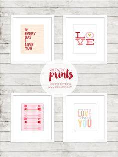 Love these Valentine prints!