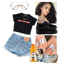 """""""Your lose babe"""" by merideanem ❤ liked on Polyvore featuring Puma"""