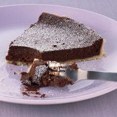Crisp chocolate orange tart recipe. www.goodhousekeeping.co.uk