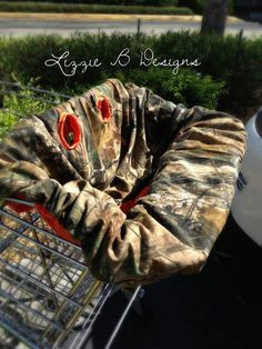 Hunting Camo Shopping Cart & Highchair Cover by LizzieBDesigns2013, $40.00