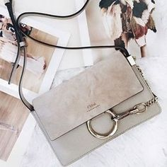 The new it bag, the Chloe Faye. // Follow @ShopStyle on Instagram for more inspo.