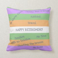 Funny Elegant Retirement No Clock No Tension Boss Throw Pillow have a great day friend, to my best friend, inspirational quotes for best friend #bestfriendever #bestfriends4ever #bestfriendchallenge, christmas diy, diy christmas decorations, diy christmas ornaments, christmas table decor Happy Birthday Best Friend Quotes, Friend Birthday Gifts, Best Friend Gifts, Happy Retirement Messages, Funny Retirement Gifts, Funny Pillows, Throw Pillows, Best Friend Status, Love You Friend