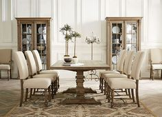 Dining Rooms, Avondale Trestle Table, Dining Rooms   Havertys Furniture