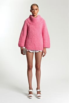 Love this Michael Kors Resort 2014 Turtleneck Sweater... can't find it anywhere!