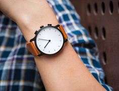 Nevo Analog Smartwatch Marries Minimalist Looks With Activity Tracking And Notifications   watch releases