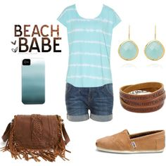 Spring / Summer 2013 Turquoise Outfit, minus the purse