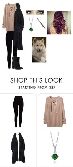 """""""Soft like Snow-Game of Thrones-"""" by jasmin8781 ❤ liked on Polyvore featuring Pepper & Mayne, WithChic, BERRICLE and MICHAEL Michael Kors"""