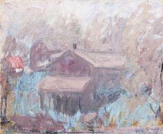 Ellen Thesleff Landscape Art, Landscape Paintings, Female Painters, Contemporary Paintings, Finland, Art Reference, Fine Art, Colour, Illustrations