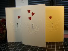 All Purpose Elegantly Embossing Fabriano Note by JolieCadeaux