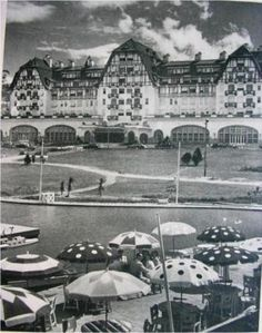 Hotel Cassino Quitandinha. I remember staying there for Carnaval with my parents. Such a beautiful hotel.