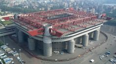 San Siro, Milan, 28 January 2006. The One returns to the Source. Kind of. I'd never been there before, obviously, but it felt just like home