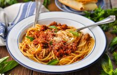 An easy slow cooker dinner that the whole family will love! This thick, rich Spaghetti Sauce recipe is loaded with ground beef, Italian sausage, and plenty of tomatoes and fresh herbs. Serve it over pasta with a Caesar salad and garlic bread for the ultimate weeknight dinner! Few meals are more comforting than a bowl of pasta with homemade meat sauce! Since every busy mom knows how hard it can be to get dinner on the table at the end of a long day, I've created this recipe that's perfectly…