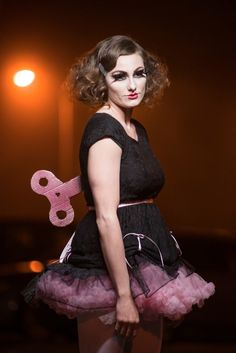 Circus  Fashion / Hair Show to raise money for The Breast Cancer Research Foundation  sc 1 st  Pinterest & 163 best Freak Show Costumes images on Pinterest | Make up looks ...