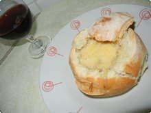 Sopa-creme-de-quatro-queijos-no-pao-italiano
