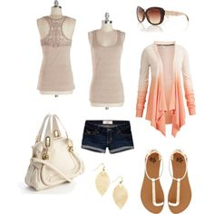 """Summer Breeze"" by sweetangel-1 on Polyvore"