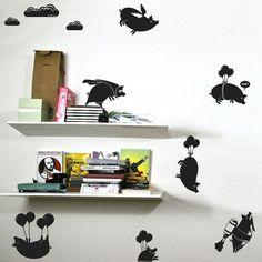 Flying Pigs Sticker Pack