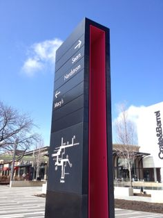 Oakbrook Center . directional