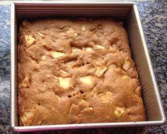 Moist Vegan Whole-Wheat Low-Fat Apple Cake