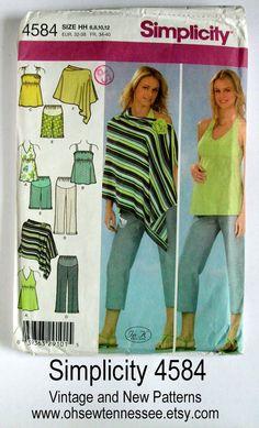 2e29d1628f Items similar to Maternity Wardrobe - Simplicity 4584 - Designer Sewing  Pattern