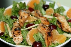 freeze for lunches - citrus chicken strips to add to salad for lunch