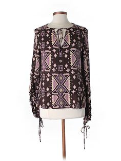 Check it out - Tory Burch Long Sleeve Silk Top for $56.49 on thredUP!