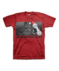 Red LEGO Star Wars 'Luke I Am Your Father' Tee - Boys