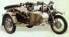 Military Ural Sidecar Rig - IMZ GEAR-UP Hack, info, review, buying, pics | Pashnit.com