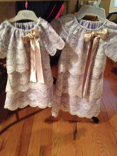 Birthday dress for the youngest grand & one to match for the oldest grand