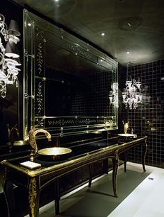 Philippe Stark design is so insping, take a look ! Philippe Starck, Decor Interior Design, Interior Decorating, Bathroom Spa, Glitter Bathroom, Washroom, Dubai Houses, Apartment Decoration, Home Modern