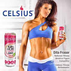 Dita Fraser, Celsius-sponsored Athlete