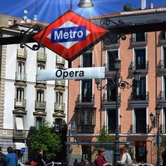 Opera station, Madrid