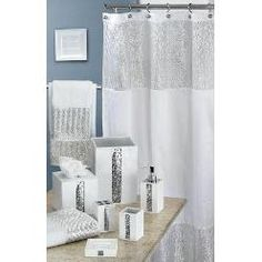 Sears Sequin Shower CurtainCute