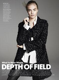 American Vogue - Depth of Field