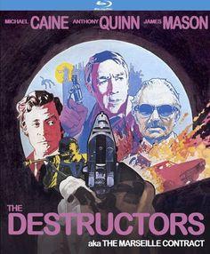 The Destructors aka The Marseille Contract - Blu-Ray (Kino Region A) Release Date: September 22, 2015 (Amazon U.S.)