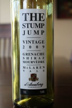 2009 d'Arenberg The Stump Jump Red - So good I couldn't even get a picture of a full bottle. $10