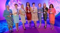 The eight winning mums walked the red carpet at the star-studded event, which was hosted by Emma Willis, before being honoured for their achievements